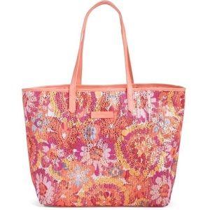 Vera Bradley Floral Sparkle Summer Tote